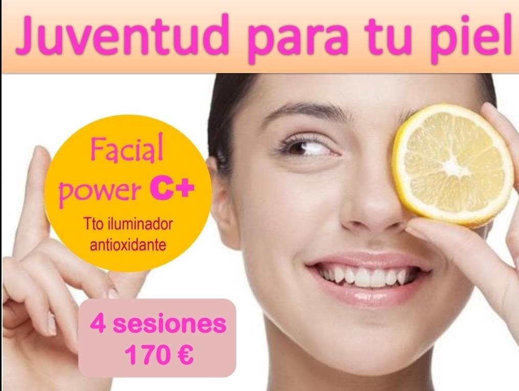 Foto 1 TRATAMIENTO FACIAL POWER C+